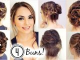 Easy Hairstyles for Long Hair without Heat No Heat Hairstyles 4 Unique Messy Buns Jackie Wyers
