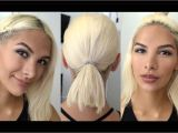 Easy Hairstyles for Long Hair without Heat No Heat Hairstyles for Short Hair