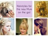 Easy Hairstyles for Mums Quick Hairstyles for Working Moms Hairstyles