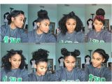 Easy Hairstyles for Naturally Curly Black Hair 8 Bun Styles for Natural Curly Hair Ig Kharissa