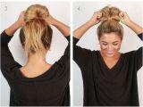 Easy Hairstyles for New Mums 26 Amazing Bun Updo Ideas for Long & Medium Length Hair