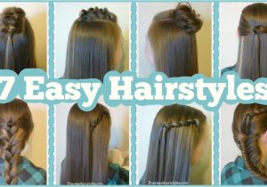 Easy Hairstyles for School for Teenage Girls 7 Quick & Easy Hairstyles for School Hairstyles for