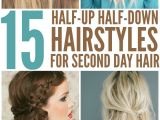 Easy Hairstyles for Second Day Hair 15 Casual & Simple Hairstyles that are Half Up Half Down