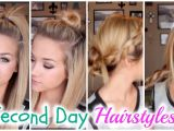 Easy Hairstyles for Second Day Hair Four Hairstyles for Second Day Hair