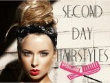 Easy Hairstyles for Second Day Hair Simple Hairstyles for Greasy Hair
