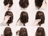 Easy Hairstyles for Short Hair Daily Motion 5 Fast Easy Cute Hairstyles for Girls Back to School