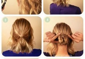 Easy Hairstyles for Short Hair to Do at Home On Dailymotion Easy Hairstyles Yourself Charming Easy Bun Hairstyles for Medium