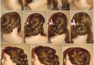 Easy Hairstyles for Short Hair to Do at Home On Dailymotion Pretty Good Easy Hairstyles to Do at Home Step by Step Dailymotion