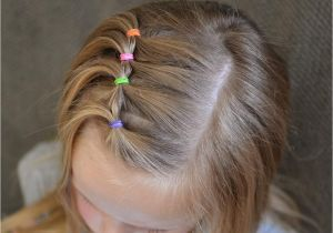 Easy Hairstyles for Short Thin Hair Video Super Cute and Easy toddler Hairstyle