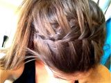 Easy Hairstyles for Sports 11 Waterfall French Braid Hairstyles Long Hair Ideas