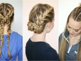 Easy Hairstyles for Sports Gorgeous Sporty Hairstyles for Summer the Hairstyles