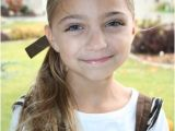Easy Hairstyles for Tweens Cute Hairstyles Tween Knots Into Side Ponytail
