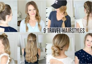Easy Hairstyles for Vacation 9 Easy Travel Hairstyles