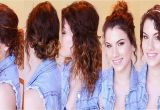 Easy Hairstyles for Wavy Hair for School for School Quick Easy Hairstyles Wavy Hair Image