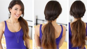 Easy Hairstyles Luxy Hair Quick and Effortless Ponytail Hairstyle with Luxy Hair Extensions