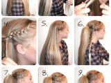 Easy Hairstyles Step by Step Braids Pin Von Olivia Auf Frisure In 2018 Pinterest