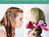 Easy Hairstyles to Do In the Morning for School 25 5 Minute Hairdos that Will Transform Your Morning