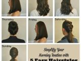 Easy Hairstyles to Do In the Morning Simplify Your Morning Routine with 5 Easy Hairstyles by