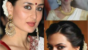 Easy Hairstyles to Do On Saree Traditional south Indian Hairstyle Google Search