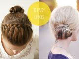 Easy Hairstyles to Do Yourself for Short Hair Easy Updos for Short Hair to Do Yourself