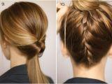 Easy Hairstyles to Put Your Hair Up Okul İçin Saç Modelleri
