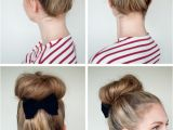 Easy Hairstyles to Put Your Hair Up Put A Bow On It Hair Romance