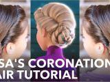 Easy Hairstyles Videos Tune Pk Elsa S Frozen Coronation Hairstyle Tutorial