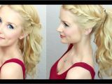 Easy Hairstyles Videos Youtube Cute & Easy Twisted Ponytail Much Requested