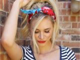 Easy Hairstyles with Bandanas 20 Gorgeous Bandana Hairstyles for Cool Girls