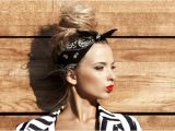 Easy Hairstyles with Bandanas 3 Retro Hairstyles with A Bandana
