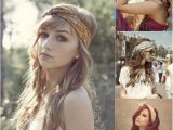 Easy Hairstyles with Bandanas why Not Try Hair Accessories In This Autumn