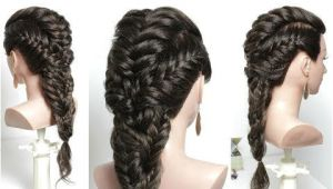 Easy Hairstyles with Braids Youtube Easy Hairstyle with Braid for Long Hair Tutorial