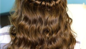 Easy Hairstyles with Hair Down Headband Twist Half Up Half Down Hairstyles