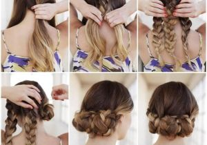 Easy Hairstyles with Instructions Bun Hairstyles for Your Wedding Day with Detailed Steps