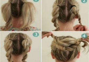 Easy Hairstyles with Instructions Bun Hairstyles Step by Instructions