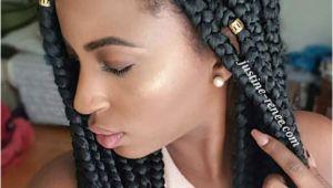 Easy Hairstyles with Jumbo Braiding Hair Jumbo Box Braids Styles Sie Ausprobieren Können