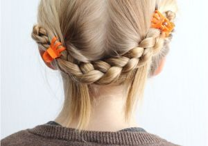 Easy Hairstyles with Only A Hair Tie 5 Minute School Day Hair Styles Fynes Designs
