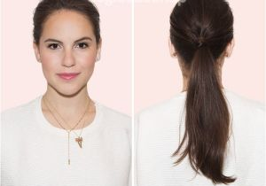 Easy Hairstyles with Only A Hair Tie Easy and Quick Hairstyles Every Working Woman Should Know