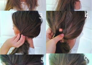 Easy Hairstyles with Only A Hair Tie Love My Hairstyle Stylish Side Ponytail