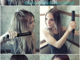 Easy Hairstyles with Straightener Easy Straight Hairstyles for Girls How to Straighten Hair