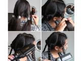 Easy Hairstyles with Straighteners Simple Hairstyles that You Can Achieve with A Flat Iron