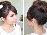 Easy Hairstyles without Bobby Pins Messy Hair Bun without Using Bobby Pins