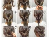 Easy Hairstyles You Can Do Yourself top 10 Messy Updo Tutorials for Different Hair Lengths