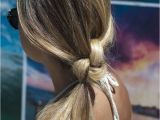 Easy Hairstyles You Can Sleep In Knotted Ponytail