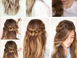 Easy Half Updo Hairstyles for Long Hair Best Cute Easy Hairstyles for Long Thick Hair