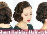 Easy Holiday Party Hairstyles Easy Holiday Party Hairstyles