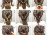 Easy Homemade Hairstyles for Short Hair Step by Step Up Do to Create An Easy Hair Style that Looks Lovely