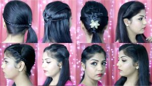 Easy Indian Hairstyles for Short Hair 4 Quick and Easy Hairstyles