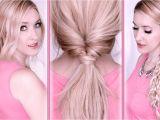 Easy Last Minute Hairstyles Everyday Hair Tutorial Last Minute Hairstyles for School