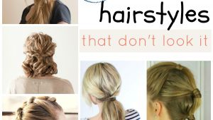 Easy Lazy Day Hairstyles Lazy Day Hairstyles